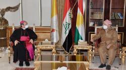 Apostolic Nuncio to Masoud Barzani: Kurdistan brings to the Christian community