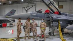طائرات F-16 عراقية تدخل الخدمة بعد صيانتها (صور)