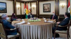 KDP's Head meets the Iraqi President in Kurdistan
