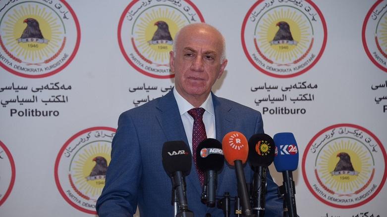 """بعد اجتماع مع صالح .. الديمقراطي الكوردستاني: أرسلنا وفدا لبغداد وفاتحنا """"سائرون"""" للتحالف"""