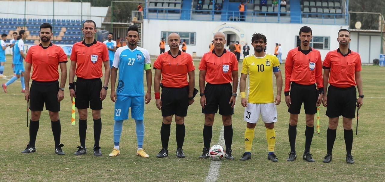 طاقم تحكيم عراقي يقود مباراة في دوري أبطال آسيا