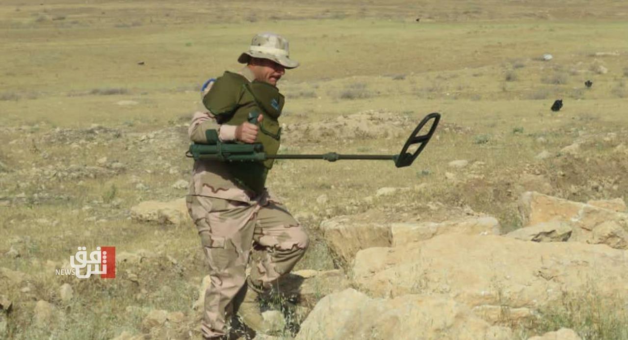 """نينوى.. """"إرهابي"""" بقبضة الجيش والعثور على مضافة ومتفجرات (صور)"""