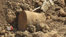 Controlled detonation of a bomb in north Baghdad