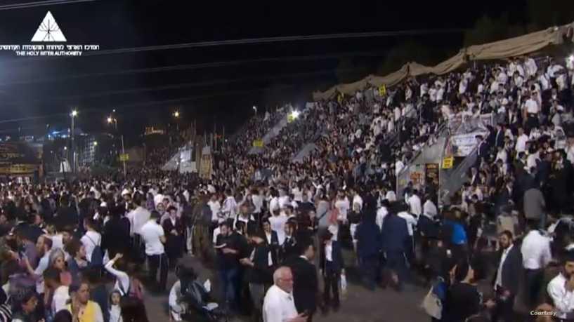 مقتل واصابة العشرات إثر تدافع خلال احتفال يهودي ضخم في إسرائيل