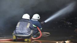 اندلاع حريق داخل مستشفى البصرة العام