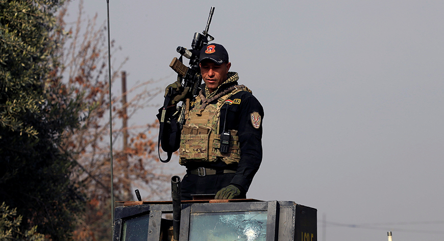 Five killed and three injured in yesterday's ISIS attack in Northern Baghdad