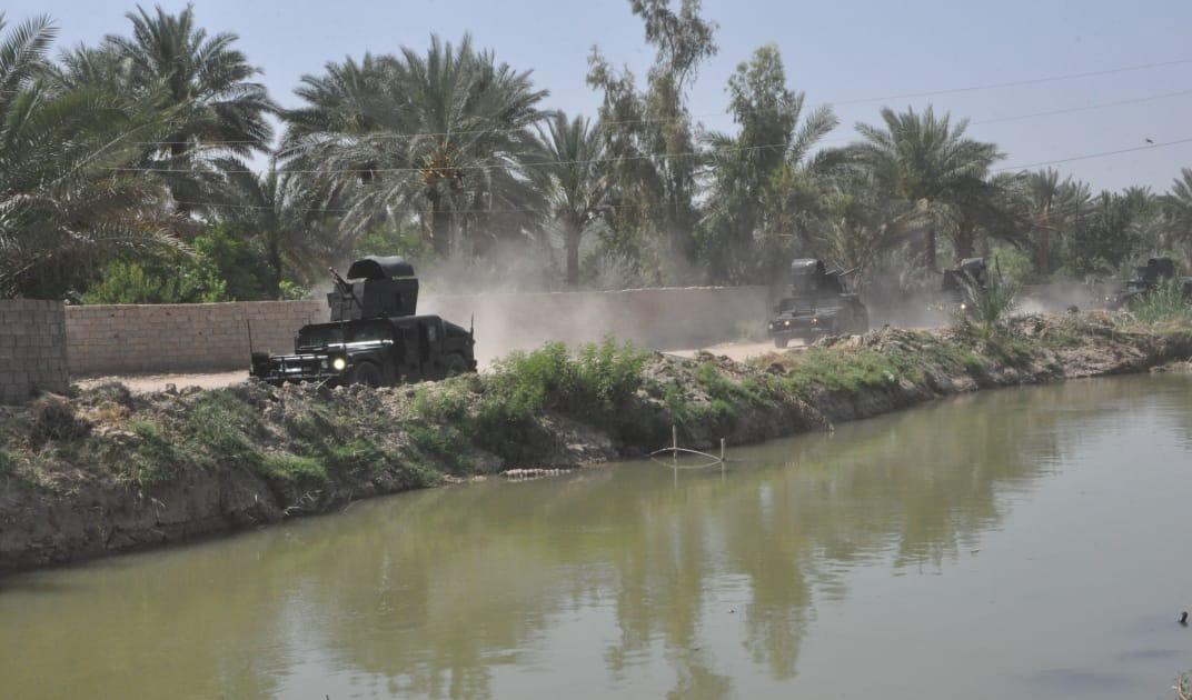 عملية تمشيط تستهدف منطقة إطلاق الصواريخ على قاعدة بلد