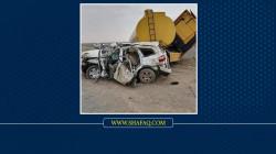 مصرع واصابة 7 اشخاص بحادث سير مروع في صلاح الدين