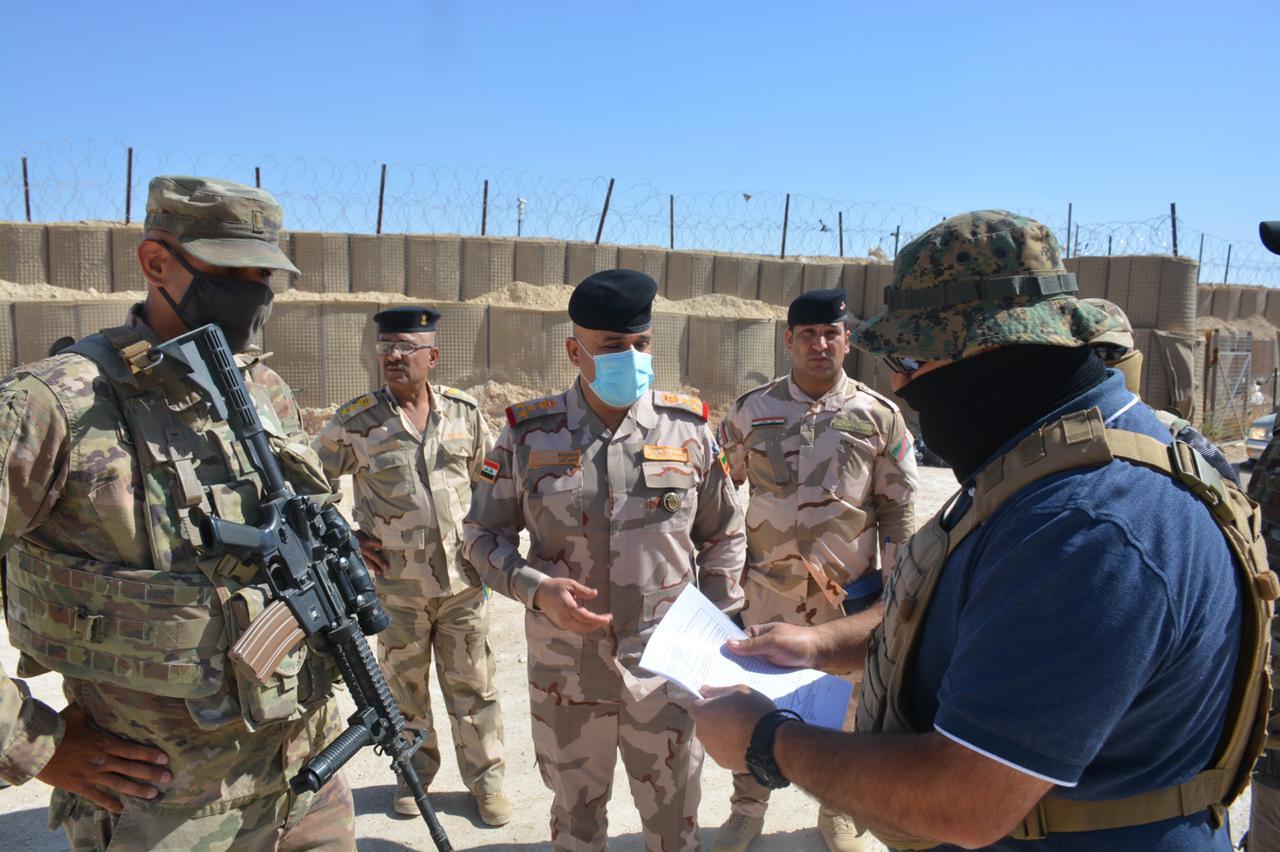 بعد مكافحة الارهاب.. التحالف يسلم 83 عجلة للجيش العراقي