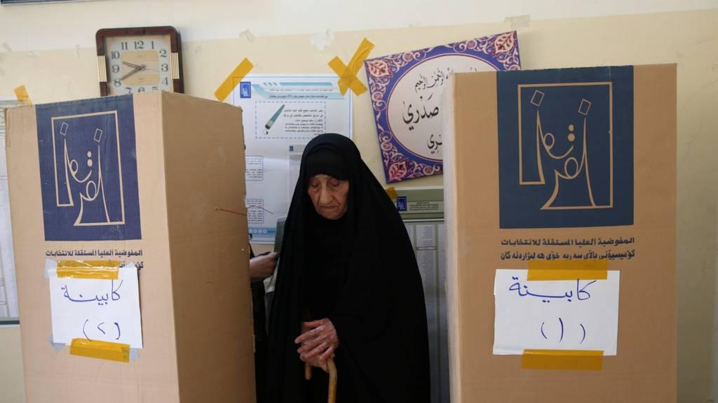 """تقرير امريكي يتحدث  عن """"تصادمين"""" عراقيين مقبلين وتوازن سياسي هش بين  الفتح والصدر بعد الانتخابات"""
