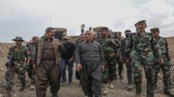 Kurdistan's Deputy President visits the Site of ISIS attack on the Peshmerga