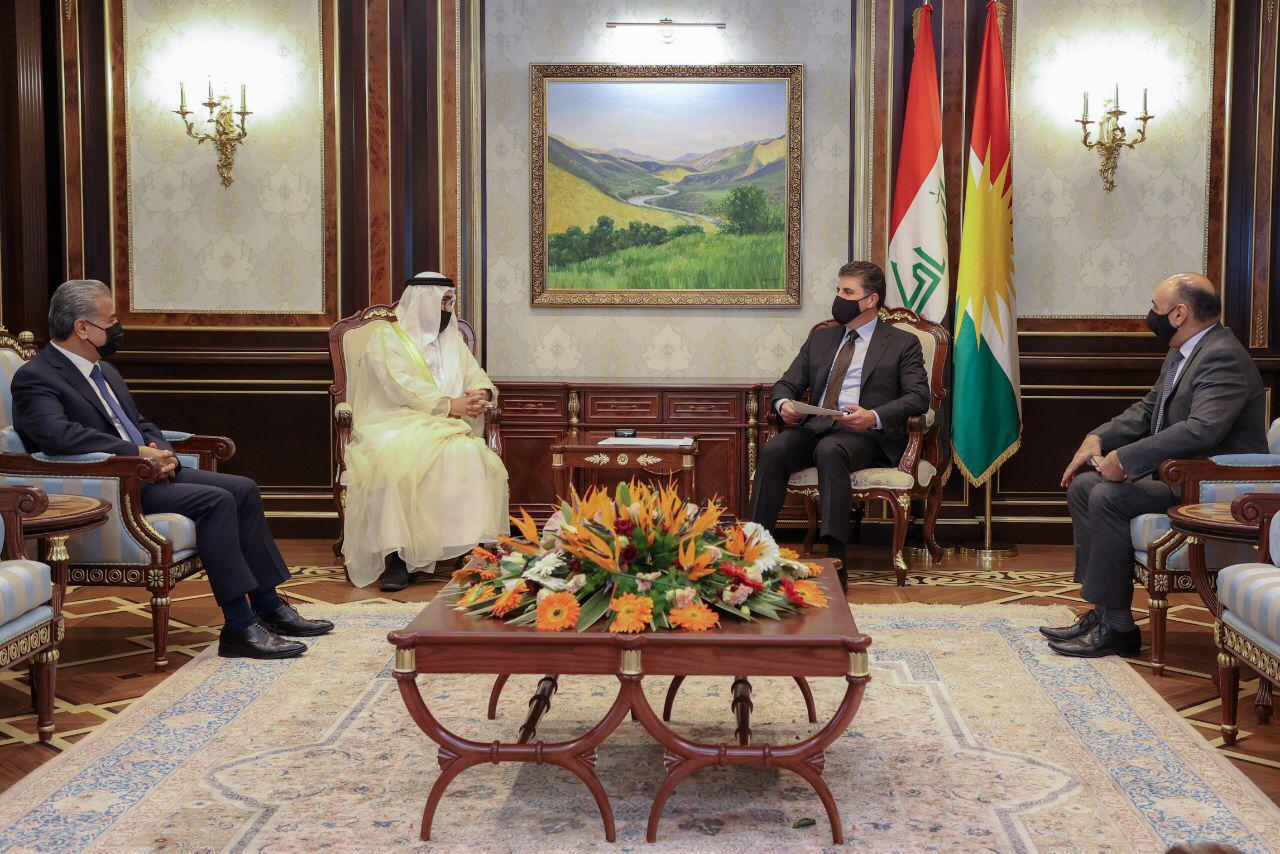 رئيس إقليم كوردستان يتلقى دعوة رسمية لزيارة الامارات