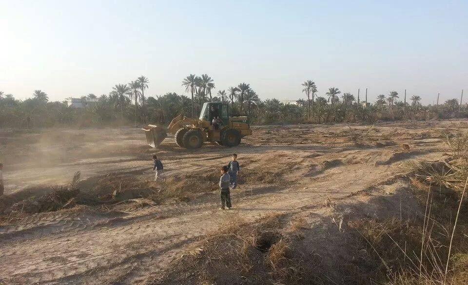 مزارعون مستاؤون من تجريف البساتين في جلولاء: قطعت أرزاقنا ولم تمنع داعش