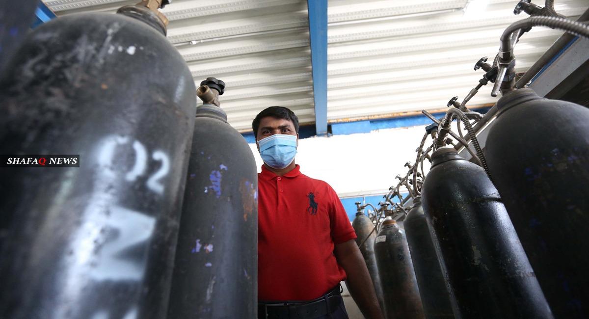Three injured in an oxygen tank blast