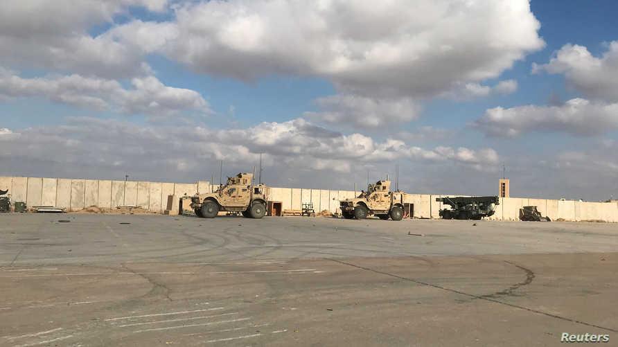 A rocket attack targets Ain Al-Asad Airbase