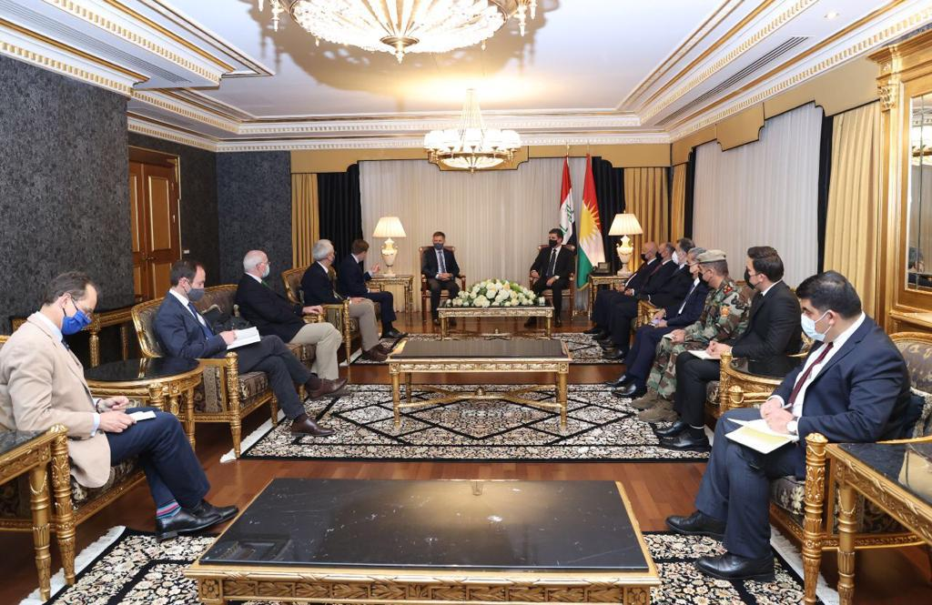Erbil and London are discussing strengthening the defense system in the Kurdistan Region 1620154328347