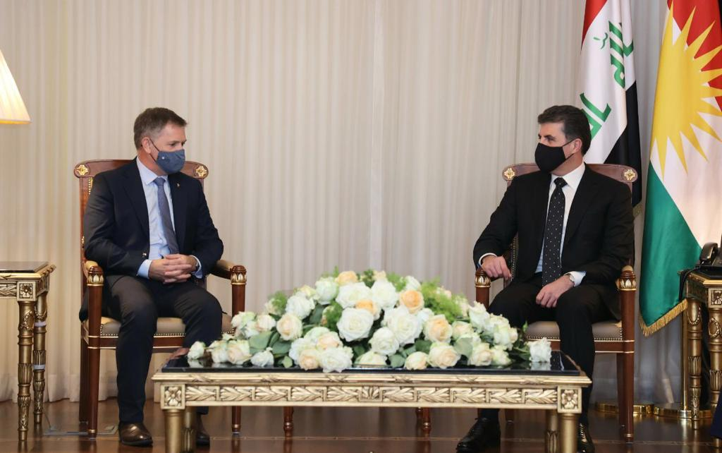 Kurdistan's President thanks Britain for its role in confronting ISIS