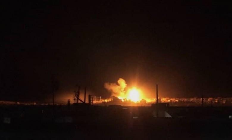 قتيل وجرحى في قصف جوي إسرائيلي على سوريا