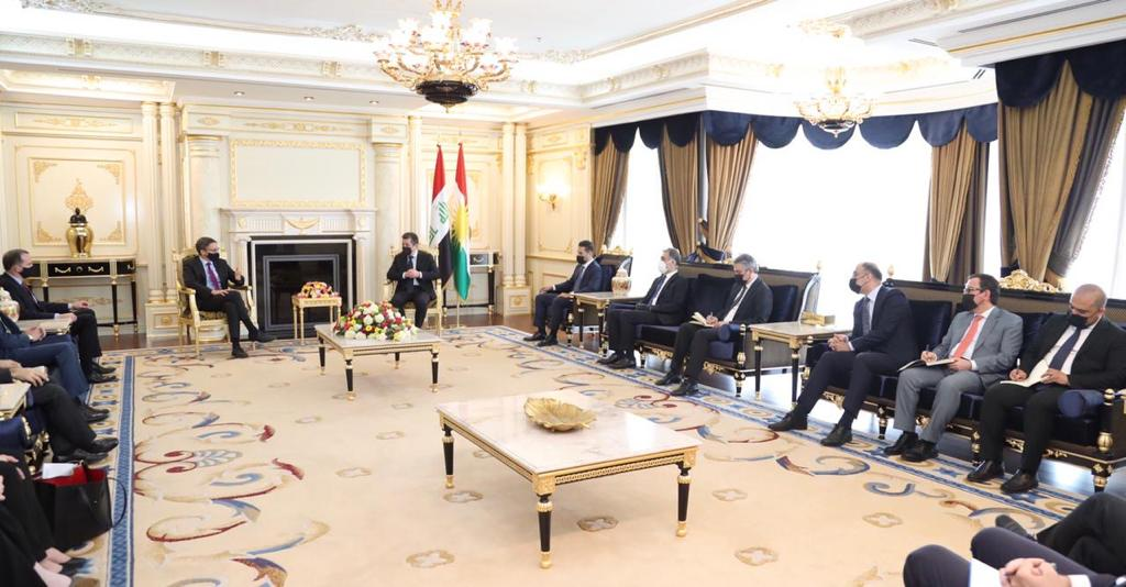 """Washington affirms its desire to develop relations with the Kurdistan Region as an """"important ally"""" in the region"""