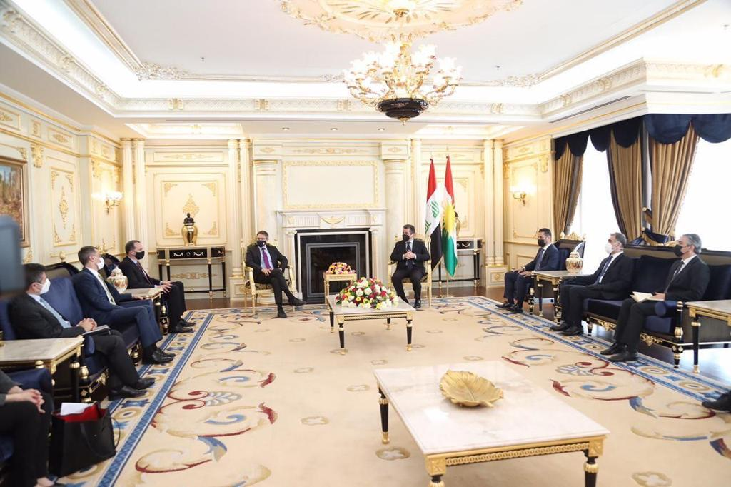 """Washington affirms its desire to develop relations with the Kurdistan Region as an """"important ally"""" in the region 1620217096560"""