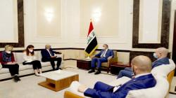 الكاظمي والسفير الفرنسي يبحثان تطوير التعاون أمنيا وأقتصاديا واستثماريا