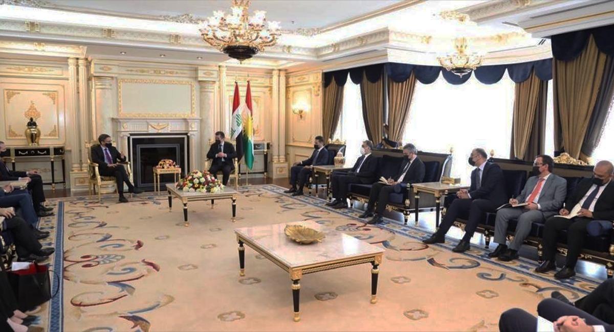 """واشنطن تؤكد رغبتها بتطوير العلاقات مع إقليم كوردستان كـ""""حليف مهم"""" في المنطقة"""