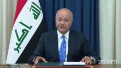 الرئيس العراقي: نرى بوادر للصراع الاقليمي ولا يمكن للعراق أن يغرق به