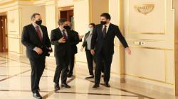 President Barzani hosts the US delegation in Erbil