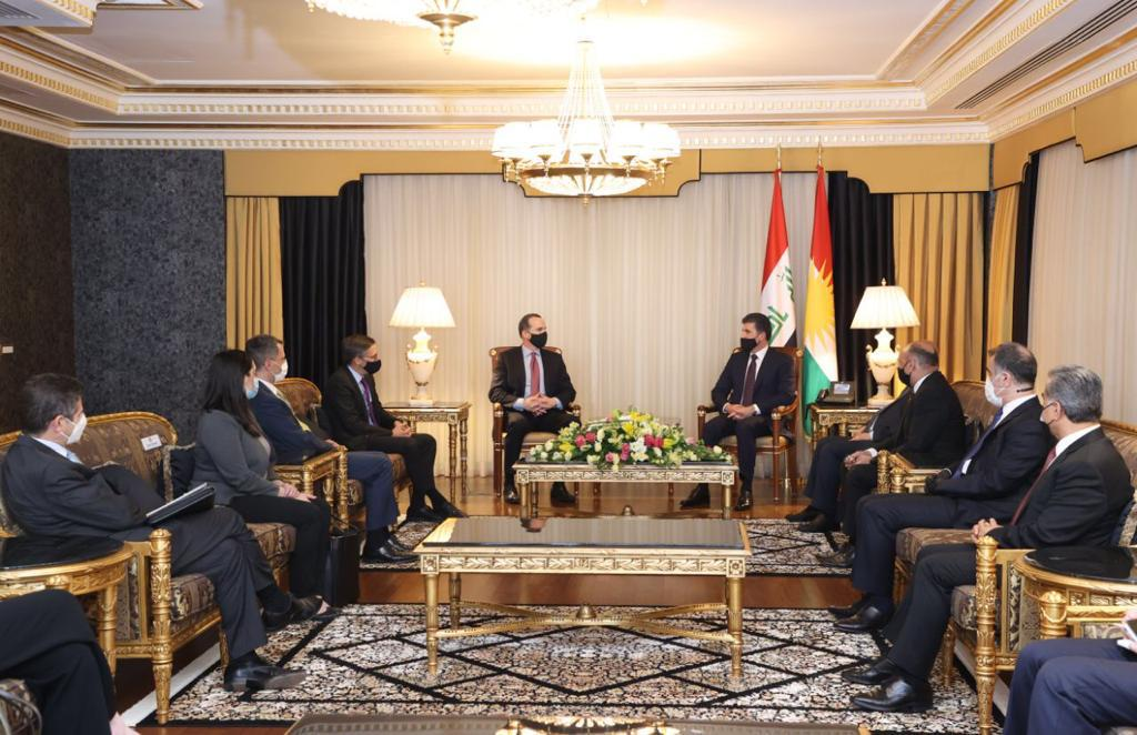 McGurk to the President of the Region: Kurdistan has many friends in Washington, as of President Biden 1620231524212
