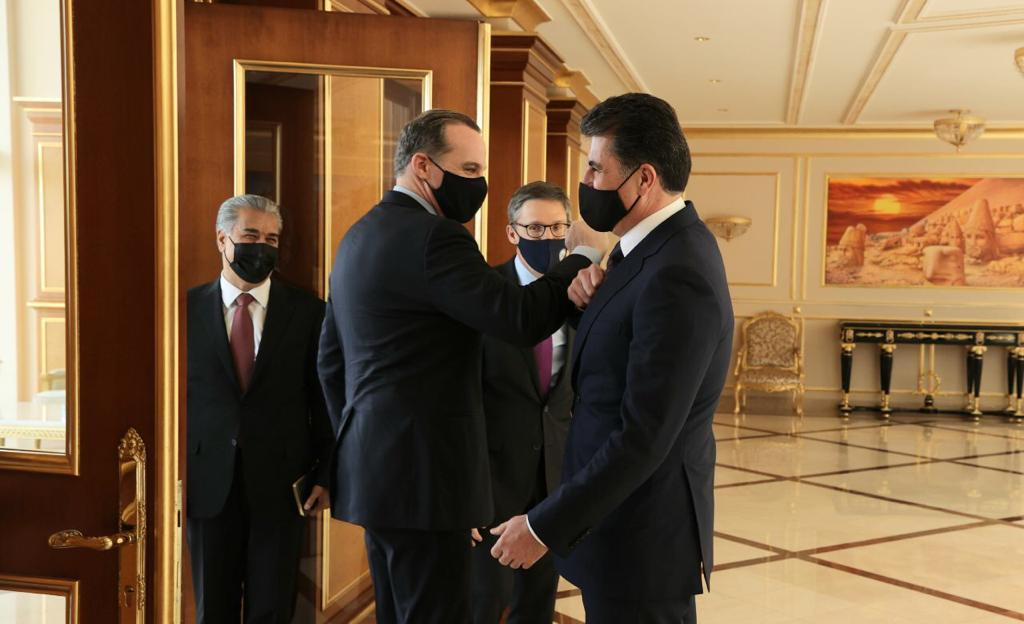 McGurk to the President of the Region: Kurdistan has many friends in Washington, as of President Biden 1620231525881