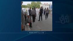 حماية مطار النجف الدولي يضربون عن العمل