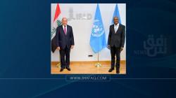 وزير الخارجية يحث الأمم المتحدة على تطوير القطاع الزراعي العراقي