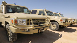 An explosion targets a Logistics Convoy of the Global Coalition in Al-Anbar