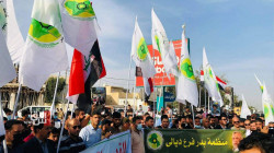 Iraqis march on Quds Day, express solidarity with Palestinians