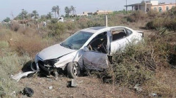 Two policemen, one injured in a traffic accident in Saladin