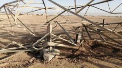 صلاح الدين تتنفس الصعداء بعد إصلاح 6 أبراج كهرباء