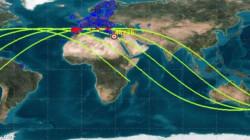 تحديث.. دول البحر المتوسط في مجال سقوط الصاروخ الصيني