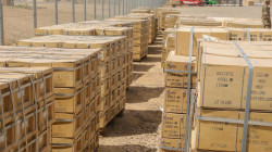 Iraq receives military equipment from the US-led Coalition