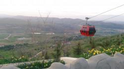 """حكومة إقليم كوردستان تدشن مشروع """"تلفريك"""" جديد في دهوك"""