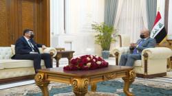 الرئيس العراقي يعد ملف المياه مرتكزاً للأمن القومي ويدعو لتسويته مع الجوار