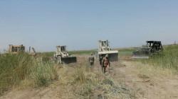 الرد السريع يحصن قرى ويفتح طرقاً مغلقة منذ 15 عاماً في ديالى