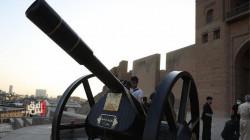 لأول مرة منذ قرن.. إطلاق مدفع الإفطار في قلعة أربيل (صور)