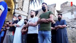 فيديو.. موصليون يقيمون صلاة العيد على ركام الحرب