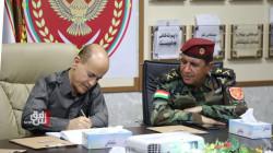 """البيشمركة تعلن عن """"تفاهم جيد"""" مع الجيش العراقي.. صور"""