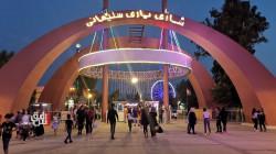 عشرات آلاف السياح يتدفقون على السليمانية لقضاء عطلة العيد