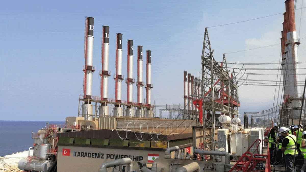 كارباورشيب التركية توقف إمدادات الكهرباء للبنان لتأخر سداد المستحقات