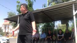 حظر التجوال في شوارع كركوك بعيون المسرحي زانيار (صور)