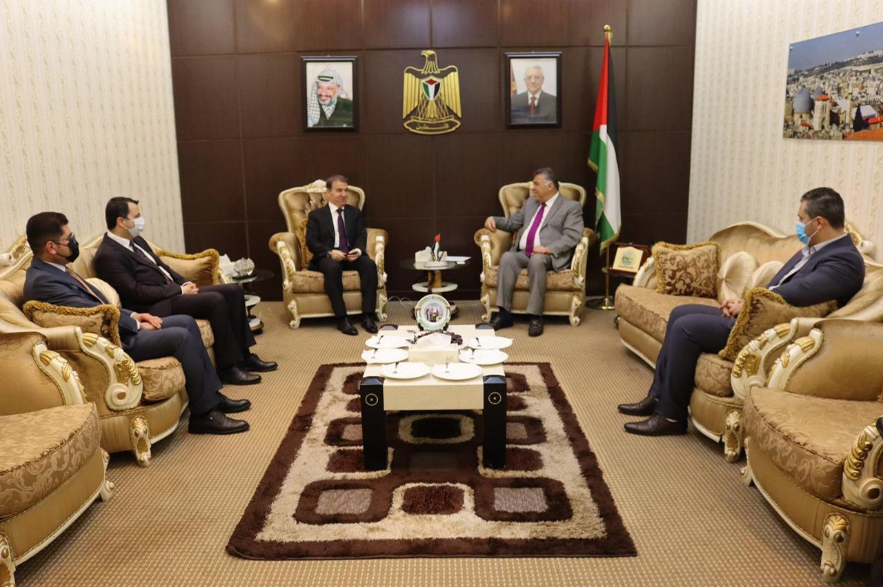 مسعود بارزاني يعبر عن تضامنه في الشعب الفلسطيني