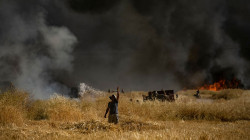 Hundreds of dunums of wheat saved from fire, monitoring patrols to avoid recurrence