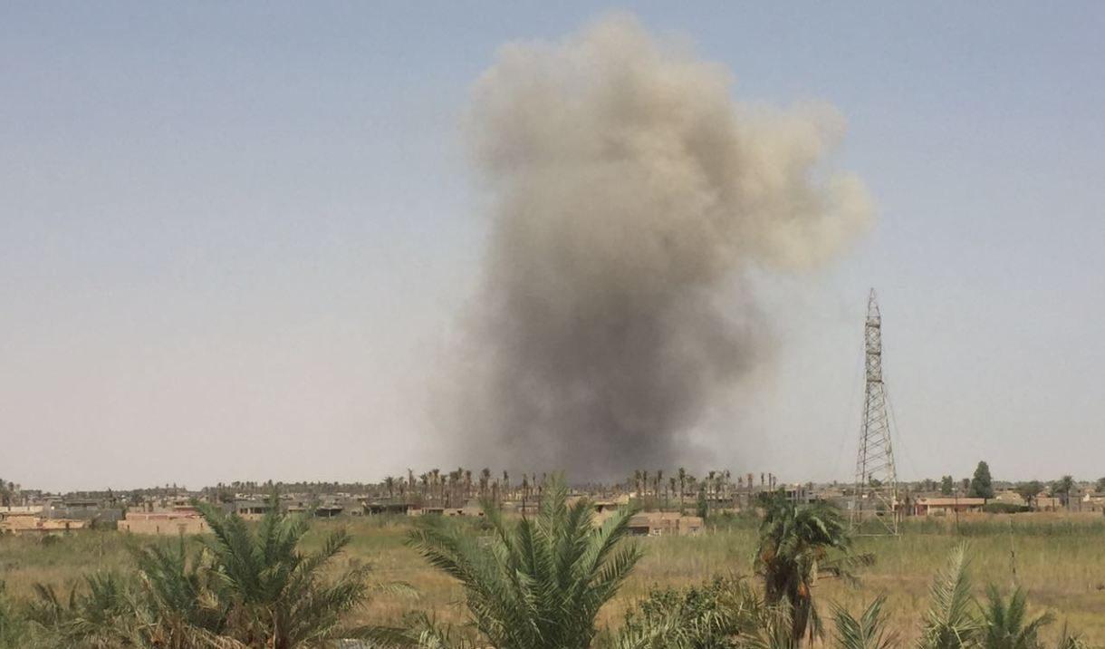تفجير يستهدف رتلا لوجستيا للتحالف الدولي جنوبي العراق